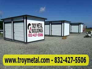& PBI Prefab Mini Storage Sheds