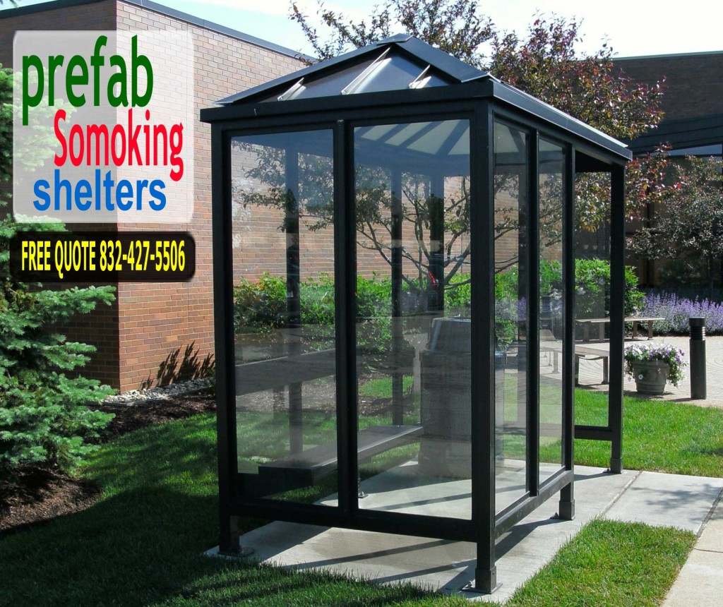 Smoking Shelters Prefabricated Ready To Ship Prefab