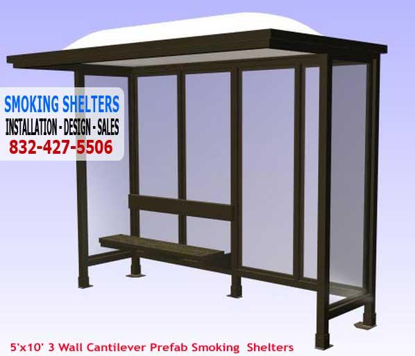 Metal Smoking Shelters : Avnix construction equipment may